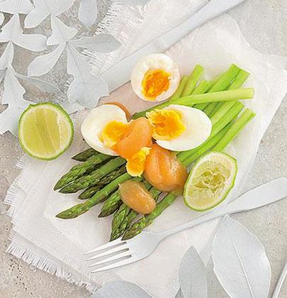 Asparagus-and-egg-salad