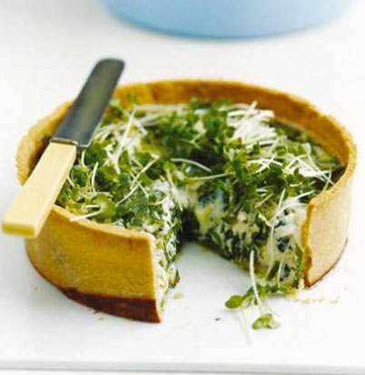 Eggs-and-watercress-tart