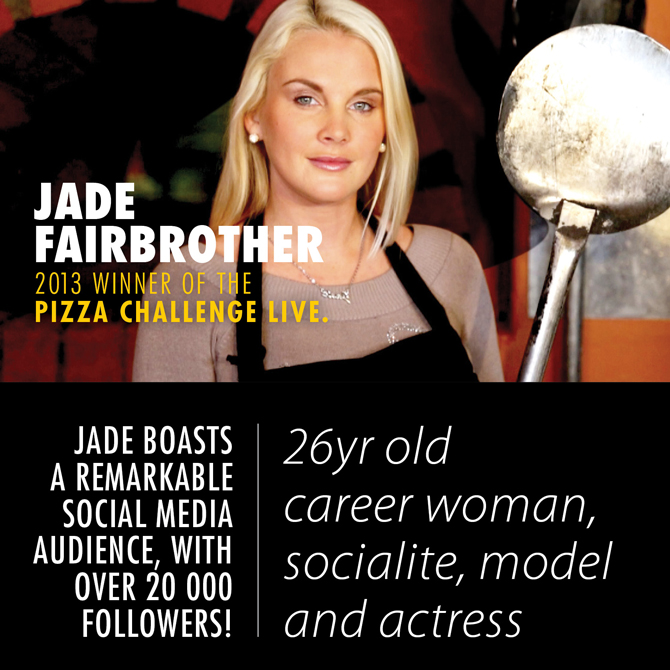 Jade Fairbrother 2013 winner