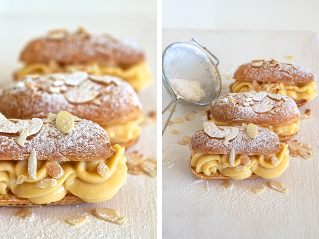 almond eclairs