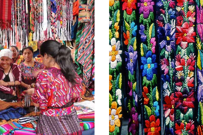 fabrics-in-Chichicastenango