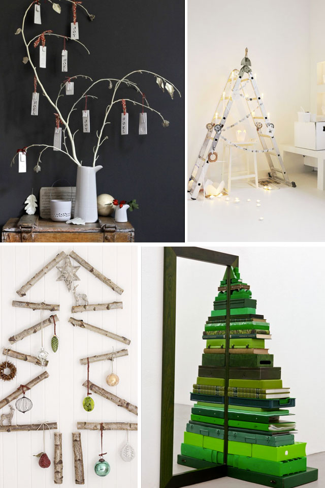 Alternative ideas for Christmas trees