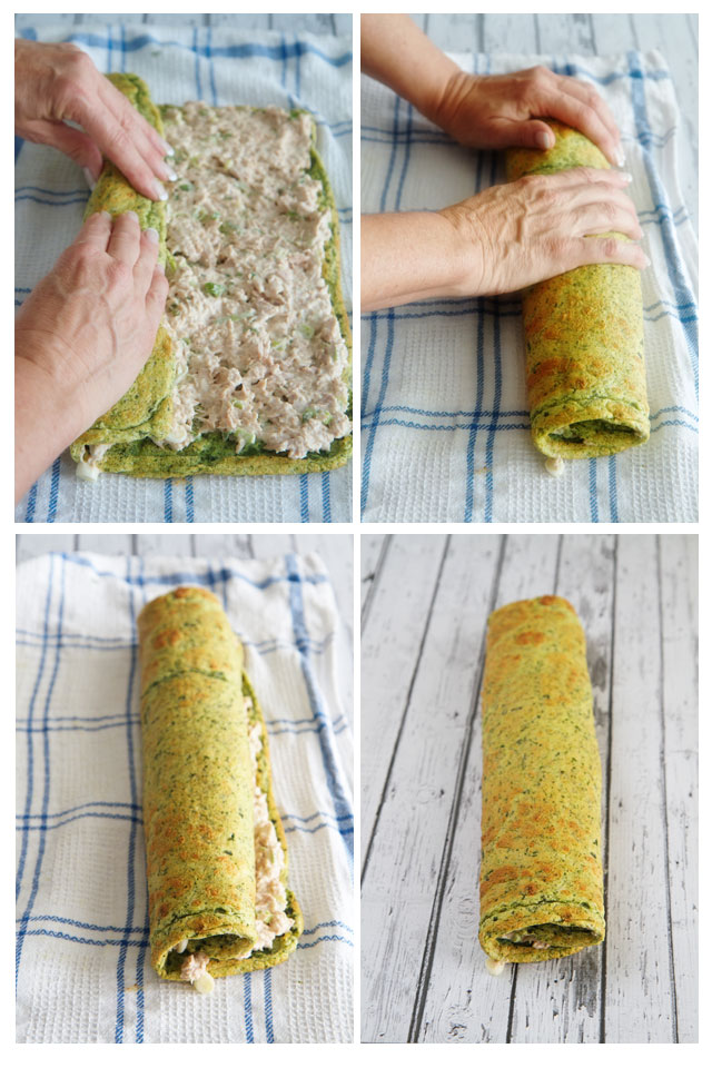 How to rolla roulade part 2