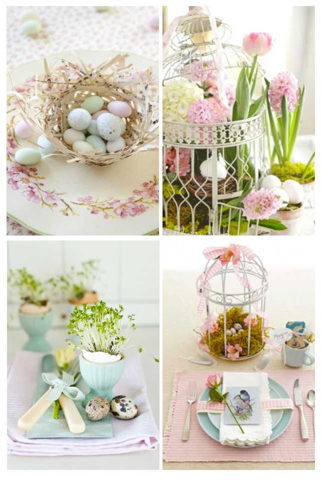 Easter table settings  sc 1 st  Shades of Cinnamon & Easter Ideas u2013 Shades of Cinnamon