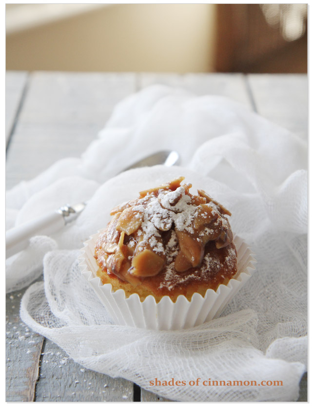 Bee sting cupcake with spoon