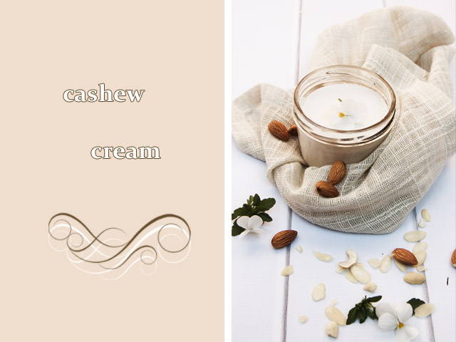cashew nut cream