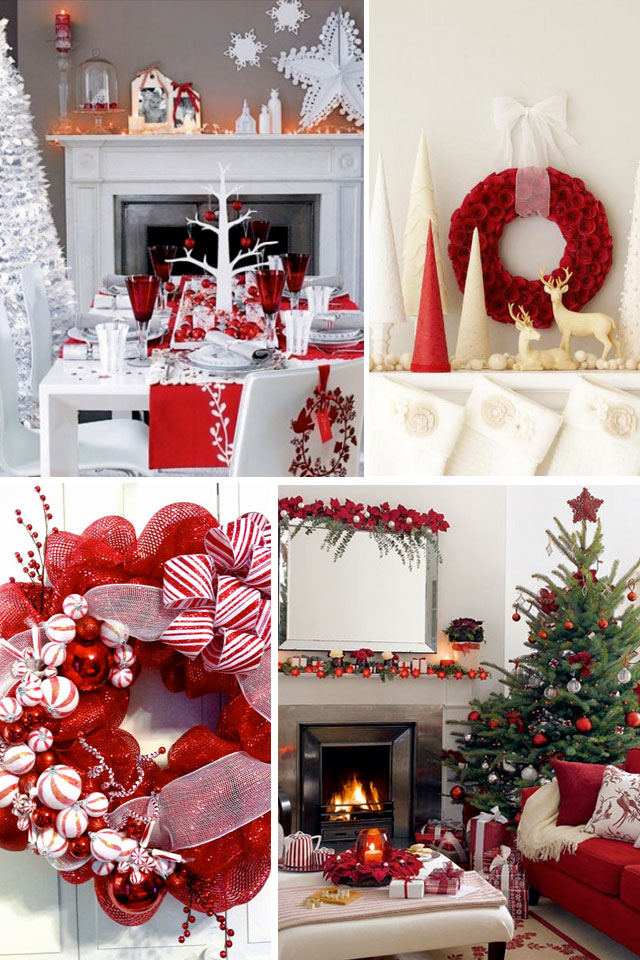 Red Christmas Decorations